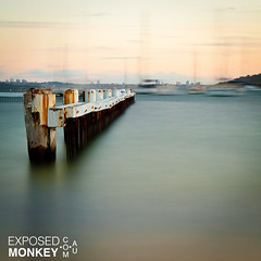 Little Manly (Exposed Monkey) Tags: ocean sunset canon landscape little manly sydney australia nsw mkii leefilters 5dmkii bigstopper