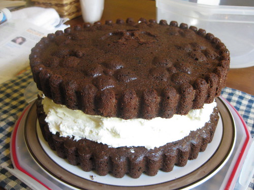 Awesome giant Oreo cake