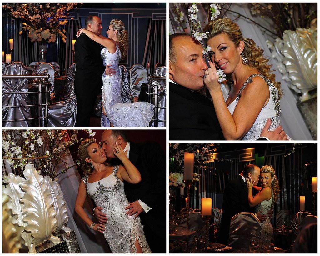 Lana & Edward's Silver Anniversary,  crystal haircomb, custom caketopper, Bridal Styles New York, Videomax Studios