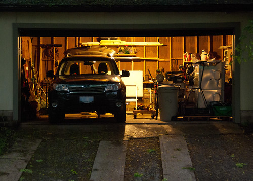 Evening garage grumpiness - #146/365 by PJMixer