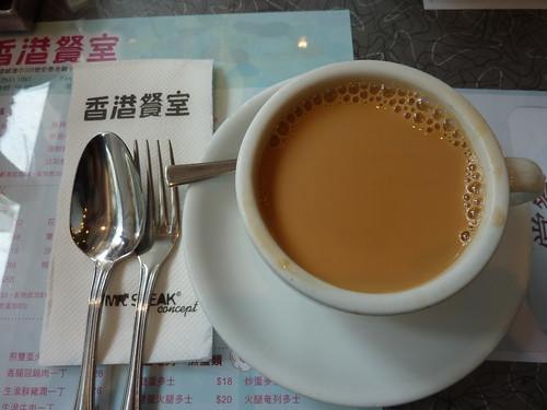 HongKong。上環的香港餐室