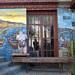 Delizioso murales del Hostal Bellavista (Cerro Bellavista - Valparaiso)