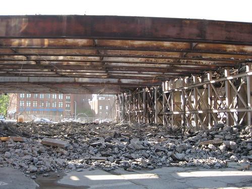 195 demolition