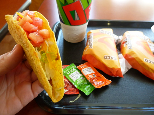 Taco Bell meal