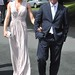 Cian O'Connor and Guest at the The Wedding of Pippa O'Connor to TV Presenter Brian Ormond held at St. Patrick's Church in Wicklow