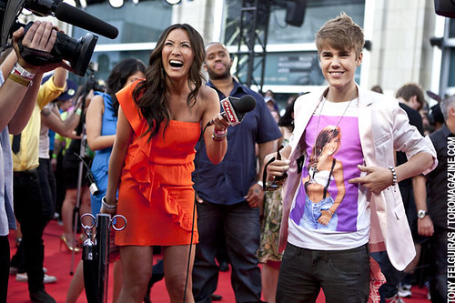 Justin Beiber with eTalk - 2011 MMVA Muc by TonyFelgueiras, on Flickr