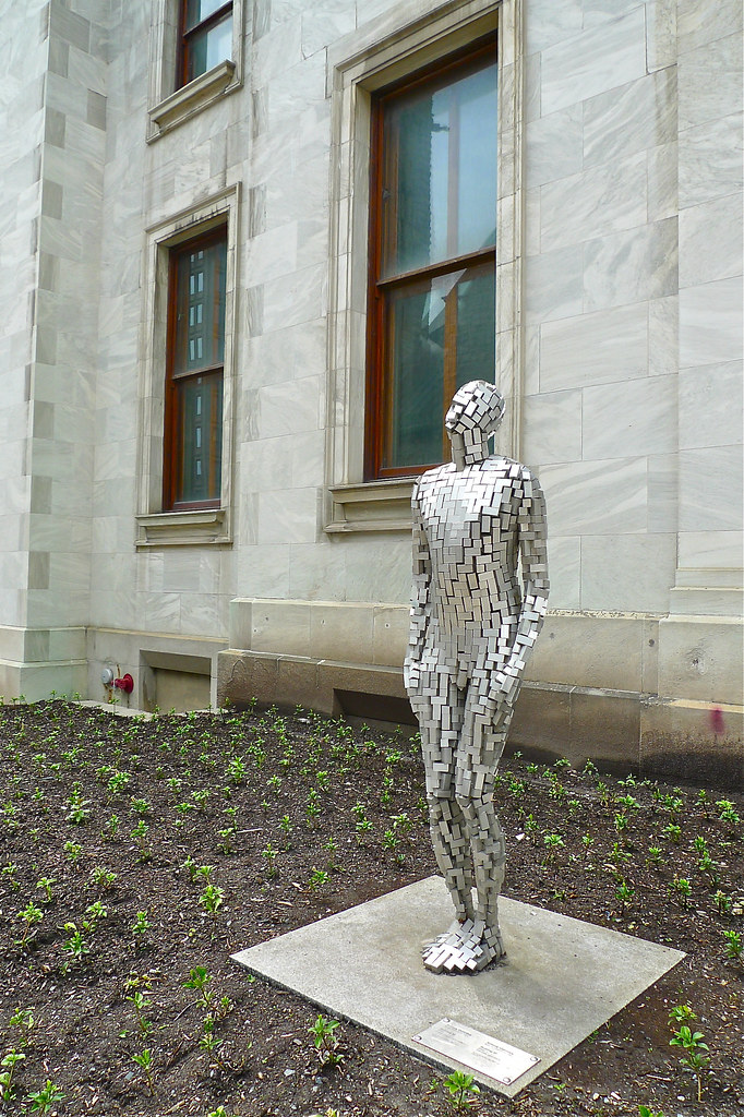 "Copyright Photo: Antony Gormley: ""Building VI"" at MMFA 2 by Montreal Photo Daily, on Flickr"