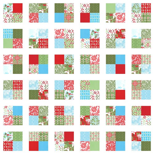 synchronized squares quilt along. {layout breakout.}