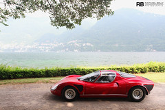 Alfa Romeo 33 Stradale -EXPLORED- (Raphal Belly) Tags: red italy lake como classic cars car rouge photography eos photo automobile flickr italia photographie 33 explorer picture automotive erba belly exotic 7d villa di passion auctions alfa romeo este raphael rb italie spotting stradale cernobbio supercars deste rm raphal concorso 2011 lagio explored deleganza