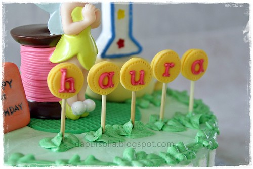 Tinkerbel Cake for Haura