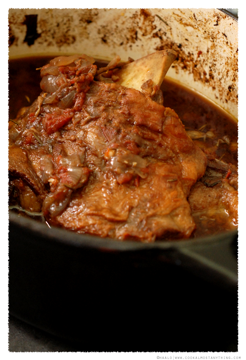 slow-cooked goat shoulder© by Haalo