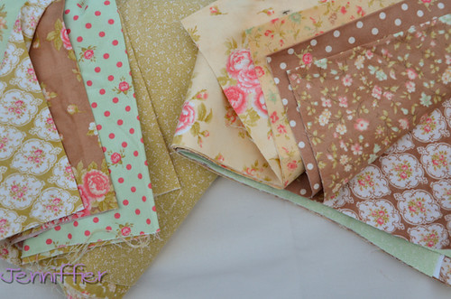 New Fabric choices for Kaleidoscope Quilt Along