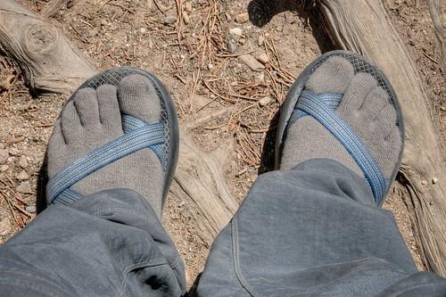 Toe Socks & Chaco's