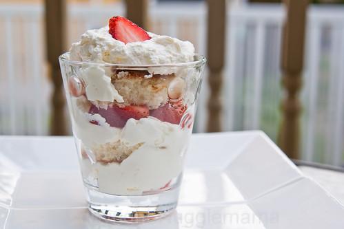 Canada Day Dessert Strawberry