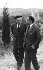 Josep Pla visita Ullastret