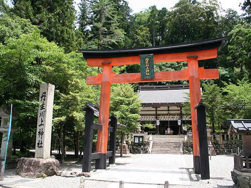 水の神社「丹生川上神社」3社めぐり『中社』@東吉野村