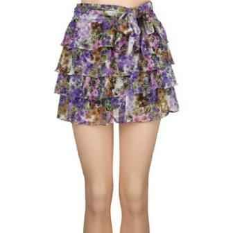 flower tier skirt