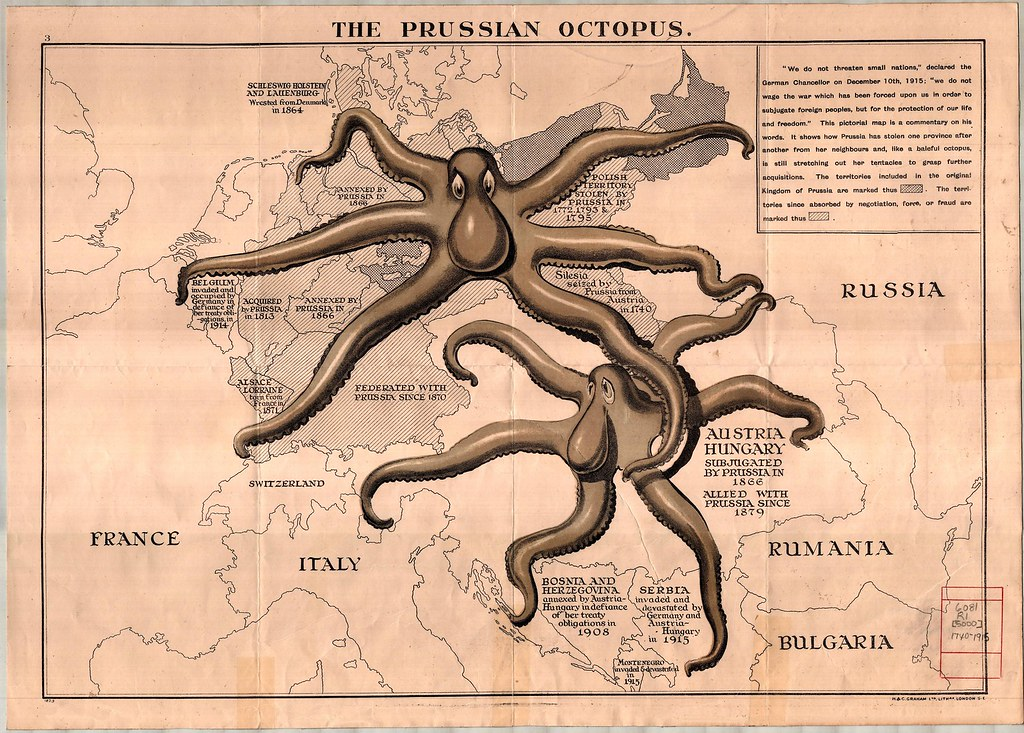 Prussian Octopus LARGE