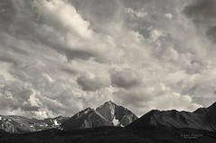 Big Sky (magic4hire1969) Tags: summer sky bw snow mountains clouds landscape nikon wideangle sierra richard sierranevada thompson richardthompson blankandwhite darksky mountainrange d300 blackwhitephotos richphotos nikond300 magic4hire1969