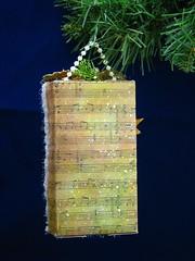 Make a Joyful Noise shadowbox (christmasnotebook) Tags: christmasnotebookcom etsycomshopchristmasnotebook shadowbox christmas upcycledchristmascard littlestangel