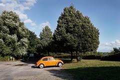 Elbkfer (Boyens.) Tags: 20160829019 elbe wedel parkplatz parkinglot kfer orange beetle vw volkswagen car auto automobil pkw sunshine sunny