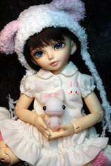 Hime's Doll (painted) (Bazangi) Tags: doll dolls if bjd ccc fairyland abjd imaginaryfriend lishe ltf charlescreaturecabinet littlefee