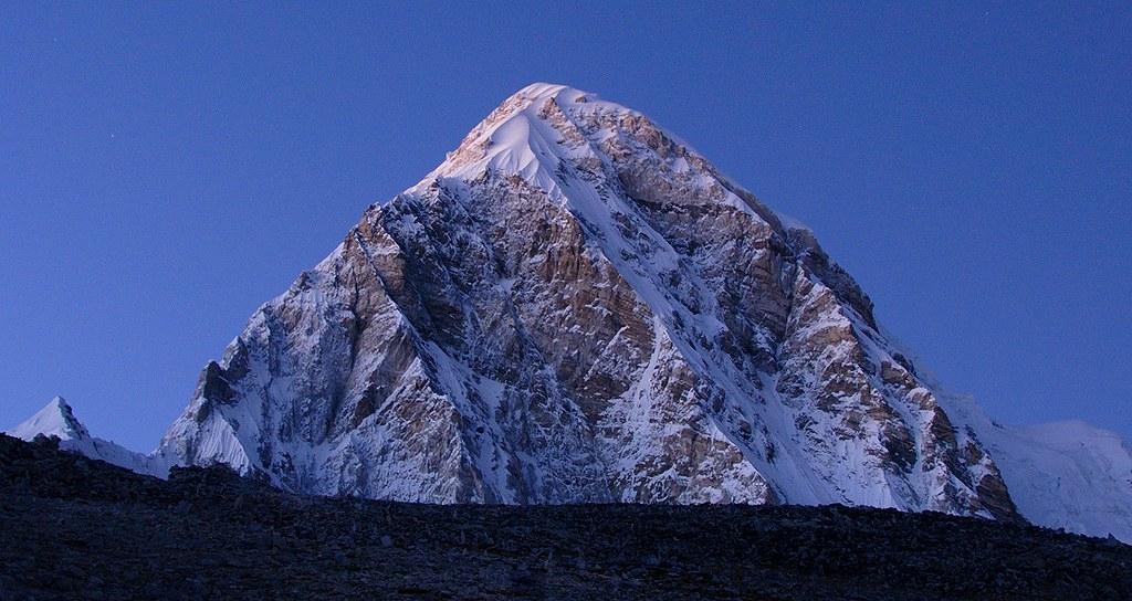 Pumori (7161 m)  in sunset light