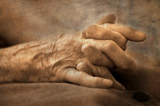 My Mother's Hands - Pictorialist treatment