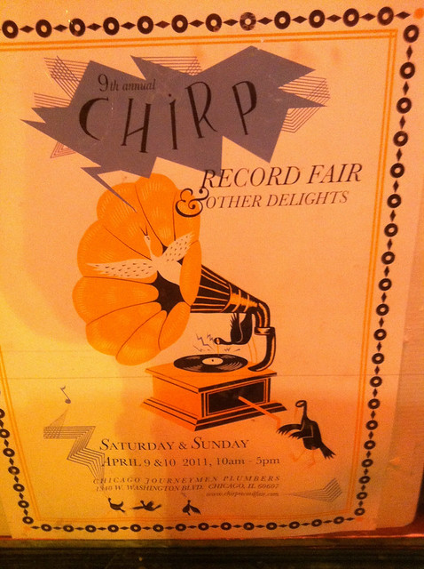 Chirp record fair