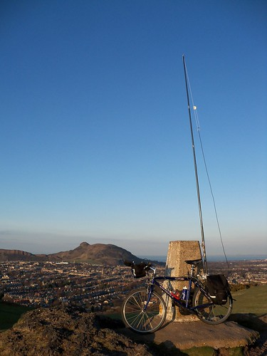 HF Bike Mobile on Blackford Hill
