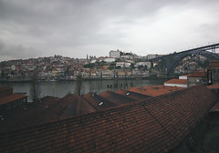 'And Porto Fought the Gloom' (TravellingCello) Tags: bw colour clouds contrast port long exposure wine porto filter nd douro density neutral 10stop canon60d portufal tokina1116mmf28