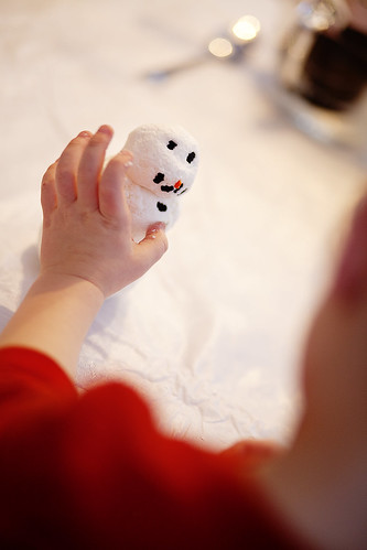 How to build a {soap} snowman