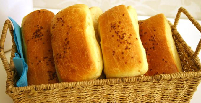 Simit - Bröd med sesamfrön
