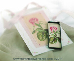 Rose Decor & Pendant