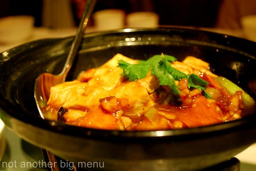 Pearl Liang, London - Chicken with salted fish in hotpot