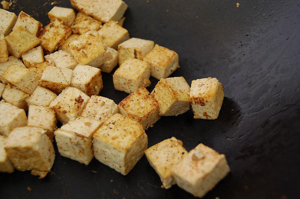 Wok-ed Tofu