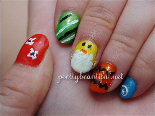 Easter nails right