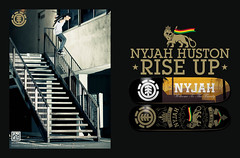 Nyjah Huston (ELEMENT AV) Tags: team skateboarding ad skate element riseup nyjahhuston