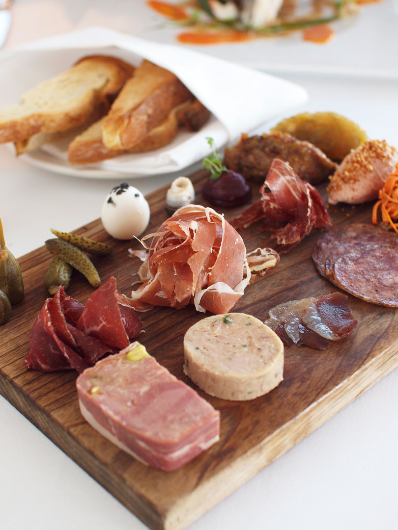 The Point - Charcuterie board