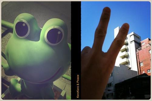 KeroKero&Peace #HalfCamera