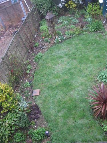 Upper lawn 1 April 2011