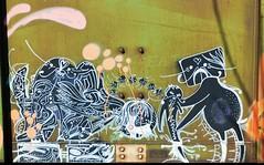 "DEUCE SEVEN ""27"" detail (Rob Swatski) Tags: street railroad fish streetart art car train bench painting graffiti nikon paint grafitti pennsylvania tag graf rail railway trains pa railcar seven spraypaint boxcar graff 27 railways railfan freight deuce freighttrain freights rollingstock fr8 twentyseven benching deuceseven nikond40 freighttraingraffiti deuce7 swatski"