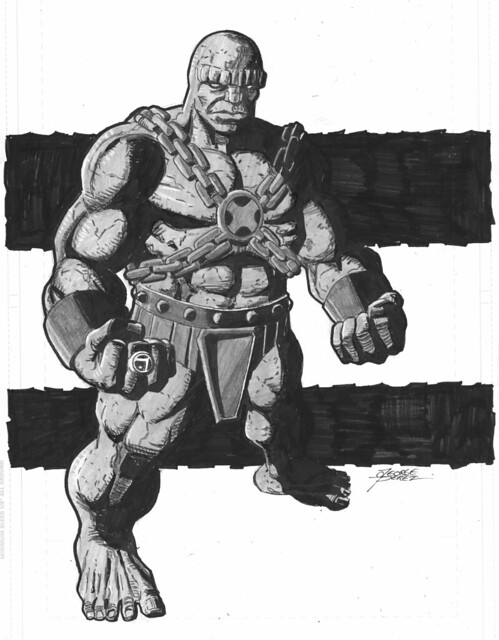 Blok commission by George Perez