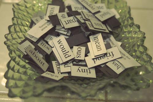 94:365, bowl full of words