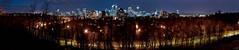 Calgary Panorama (Digital Webb) Tags: city canada calgary night canon dark landscape eos downtown nightshot alberta cityatnight xti 400d rebelxti canonxti canoneosdigitalrebelxti