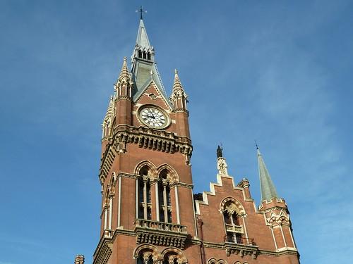 Clock Tower of the St Pancras Renaissance Hotel