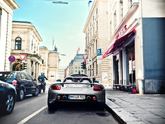 Porsche Carrera GT (nbb_photo) Tags: street race germany photography spring nice automobile scenery angle hamburg wide fast engineering wideangle automotive olympus 420 exotic german porsche e april gt legend powerful supercar spotting sportscar carrera e420 nbbphoto