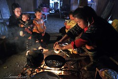 Traditional Style (LeonardKong) Tags: life lighting people baby love cooking kitchen face kids fire photography asia village image traditional flash picture vietnam kong eggs hanoi leonard  sapa gettyimages               wwwleonardkongcom