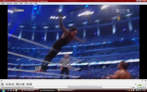 Wrestlemania 27 Undertaker