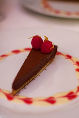 Seagrass: dark chocolate torte